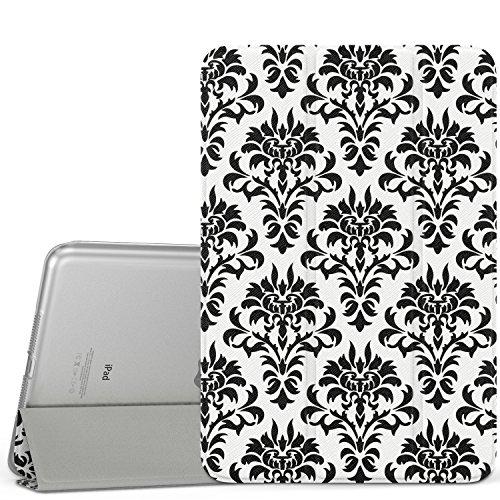 MoKo Hülle für iPad Mini 3/2 / 1 - Schutzhülle mit Durchschaubar Rückseite Auto Schlaf/Wach Funktion für Apple iPad Mini 3/2 / 1. Generation, Versailles (Nicht für Mini 4) -