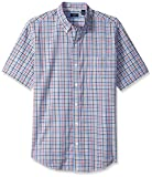 Arrow Men's Short Sleeve Mini-Plaid Hami...