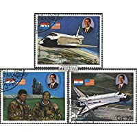 Paraguay 3420-3422 (complete.issue.) 1981 Space Shuttle (Stamps for collectors) Space