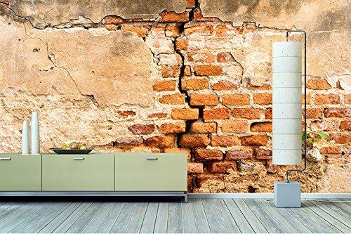 Photo De Papier Intisse : Tableaux xxl papier peint intissé photo « mur de brique
