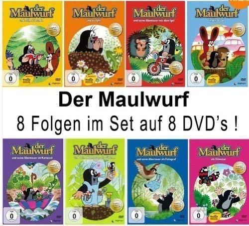 Der Maulwurf - 8 DVD Set (DVD 1 -8) (8DVDs)