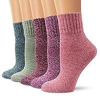 wool socks, Moliker women socks winter socks vintage soft warm for winter