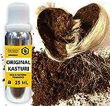 Parag fragrances Black Kasturi Attar Musk for Men, 25 ml