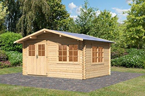 Karibu Gartenhaus Hardenberg 1 Blockbohle 28mm