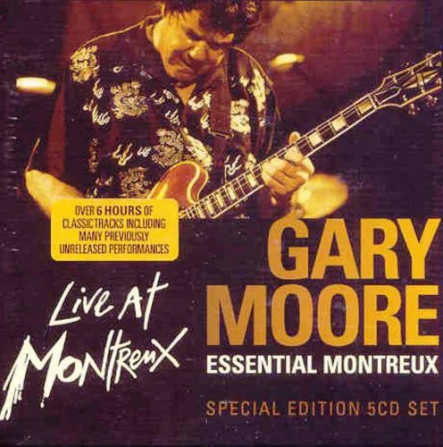 Essential Montreux [5 CD Box Set Special Ed.] by Gary Moore (2009-07-28)