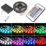 Cold Toy RGB 100cm 5050 Wasserdichte Flexible Lampe Led Streifen Licht + 24 Tasten Fernbedienung