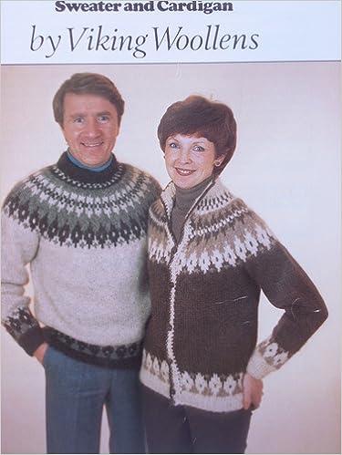 Viking Woolens No 22 Icelandic Sweatercardigan Knitting Pattern 32