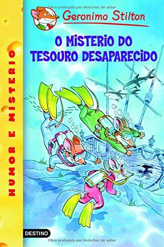 O misterio do tesouro desaparecido: Geronimo Stilton Gallego 10