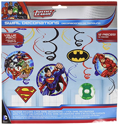 Amscan 671585 Justice League ()