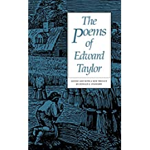 The Poems of Edward Taylor (English Edition)