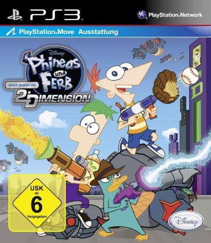Ps3 Online Spiele (Phineas & Ferb - Quer durch die 2. Dimension)