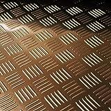 tôle ondulée Tapis en caoutchouc 3mm d'épaisseur–1,20m x m–Au Mètre