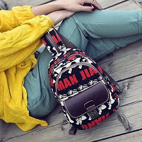 Outreo Zaino Donna Borsello Vintage Backpack Moda Borse in Pelle Ragazza Scuola Borsa Firmate Tablet Bag per Studenti Università Sacchetto Casual Zaini PU Cuoio Tasca Nero