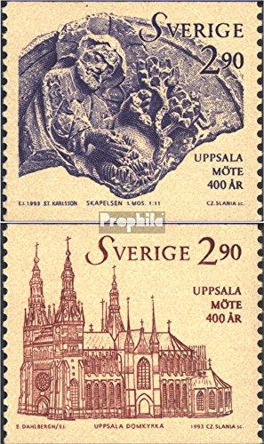 Schweden 1770-1771 (kompl.Ausg.) 1993 Synode von Uppsala (Briefmarken für Sammler)