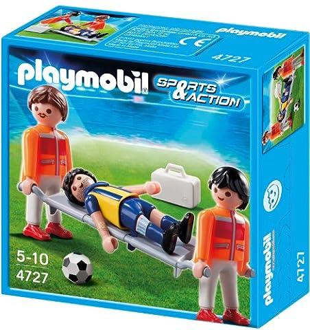 Playmobil - 4727 - Jeu de construction - Secouristes et