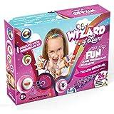 Wizard of Loom - Armband und Spielzeugmacher - Komplettes Set mit 2100 farbigen Webebändern, 84 S-Klammern, 2 Webebrett