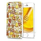 CaseLover Coque iPhone 5S, iPhone Se Etui, Housse Etui TPU Silicone pour Apple iPhone...