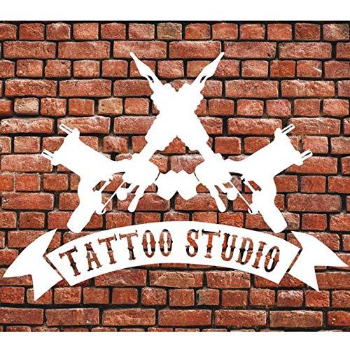n Wand Fenster Aufkleber Shop Logo Aufkleber Aufkleber Zeichen Shop Business Shop Wand Fenster Tür Innendekoration 57 * 42 cm ()