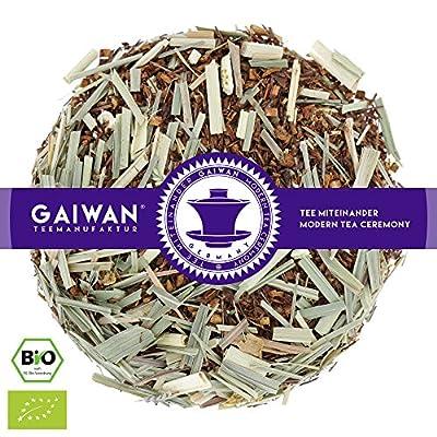 """N° 1353: Thé rooibos bio """"Citronnelle"""" - feuilles de thé issu de l'agriculture biologique - GAIWAN® GERMANY - rooibos, citronnelle, orange, lime, citron"""