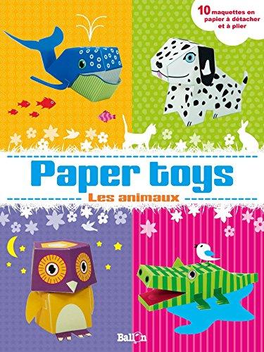 Paper toys : Les animaux