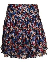 KOOKAI Femmes Jupe Multicolore Jupe 121-R1830