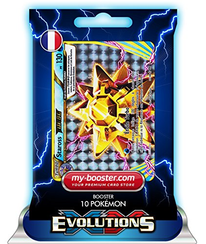 STAROSS TURBO 32/108 130PV XY12 EVOLUTIONS - Booster de 10 cartes Pokemon francaises my-booster