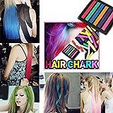 DIY Cheveux 6 Craies De Couleur Temporaires Coloration Teinture Pour Cheveux Non Toxique OverDose DIY Hair Washout Dye Hair Chalk