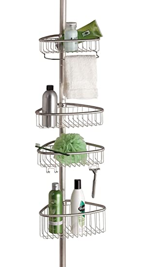 Delighful Corner Shower Caddy Amazon Non Rust Bathroom Telescopic For Inspiration Decorating