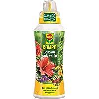 COMPO Concime Liquido Universale, Con Microelementi, Per piante sane e rigogliose, 1l