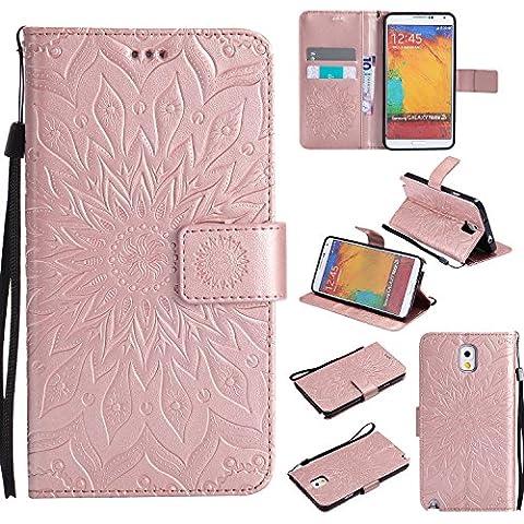 Etui Flip Cover Galaxy Note 3 - Samsung Galaxy Note 3 PU Housse,Slim-Fit Folio