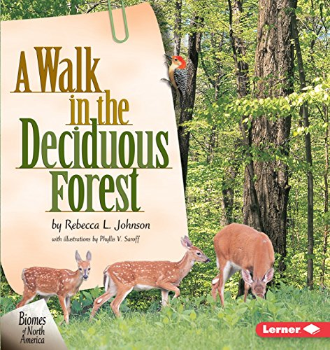 A Walk in the Deciduous Forest (Biomes of North America) (Cocoon Tree)