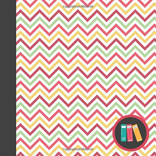 Always in the Mood Chevron Modern Square Reading Log Journal for Book Lovers (Contemporary Book Log Journals for Avid Readers) por Currant Lane
