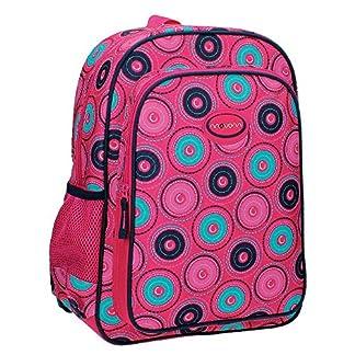 Movom 5292351 Circles Mochila Escolar, 15.6 litros, Color Rosa