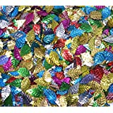 Asian Hobby Crafts Multicolour Sequins - Leaf