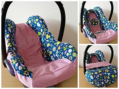 Kindersitz Bezug, Babysitzbezug, Babyschale Bezug Neu für Maxi Cosi City, Pepple, Cabrio Fix, Priori, Pearl, Safety One, Hauck Zero, Recaro Privia, Römer King, Baby Safe, Cybex Anton