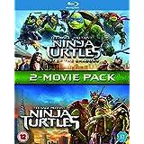 Teenage Mutant Ninja Turtles / Teenage Mutant Ninja Turtles: Out Of The Shadows Box Set [Blu-ray] UK-Import, Sprache-Englisch