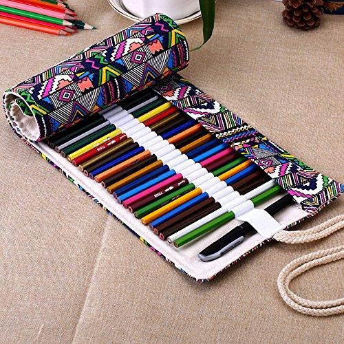 xytmy-creative-a-mano-tela-matita-astuccio-arrotolabile-matite-wrap-supporto-per-matite-penne-matite
