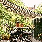 GBX Toile d'ombrage au soleil pour abri extérieur Cloth Toile d'ombrage, auvent auvent de protection solaire de partie extérieure de jardin de patio de jardin d'ombrage de soleil avec la corde libre