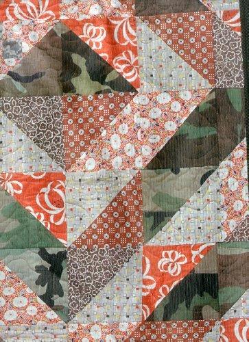 Camo Quilt-Eco Messenger Bag Camo Quilt