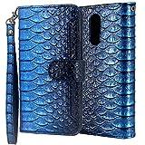 Cmid LG K40 Case, PU Leather Wallet Case Flip Book Style