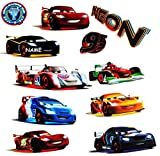 alles-meine.de GmbH 11 tlg. Set _ XL Wandtattoo / Sticker -  Disney Cars / Lightning Mc Queen  -..