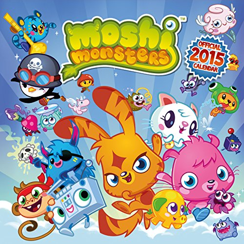 Official Moshi Monsters Calendar 2015 (Calendars 2015)