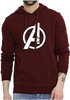 WearIndia Super Hero Avenger Printed Unisex Pullover Cotton Hoodies Sweatshirt for Men and Women/Printed Hoodie/Graphic...