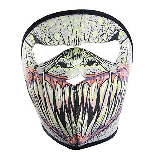 Preisvergleich Produktbild Lmeno Schädel Skelett Gesichtsmaske Ghost Style Balaclava Schädel Skelett Maske Motorrad Radfahren Cosply Kostüm Sport Ski Skifahren Snowboard Snowmobile - Typ B