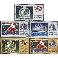 Burundi 926A-930A (complète.Edition.) 1973 50 Années interpol (Timbres pour les collectionneurs)