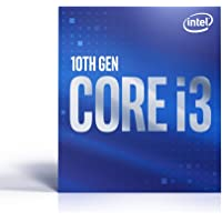 Intel BX8070110100 Core i3-10100 (Basistakt: 3,60GHz; Sockel: LGA1200; 65Watt) Box