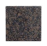 hitzebeständige Hitzeschutzplatte Granit Platte für Kamin Unerlage Handbearbeitete Naturstein Arbeitsplatte in verschiedenen Varianten Größe: 80cm x 80cm x 3,8cm,Gewicht: 40 KG