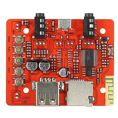 uniquegoods Wireless Bluetooth 4.1verlustfreie Audio Receiver Board Auto AUX Stereo Modul Verstärker Headset USB Adapter