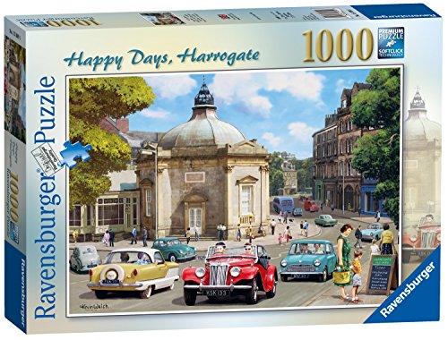 Ravensburger Happy Days–Harrogate Spielset Puzzle, 1000Einzelteile
