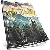 3 Jahres Journal: Ca. A4-Format, 190+ Seiten, Vintage Softcover • Dicker Jahresplaner, Tagebuchkalender, Buchkalender, Tagesplaner • ArtNr. 48 Horizont • Ideal als Geschenk